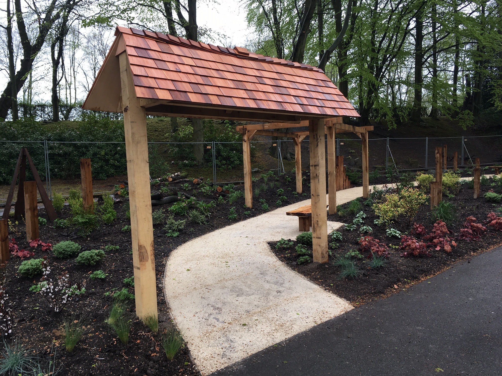 Willenhall Park Memorial Garden - Featured on BBC Midlands Today