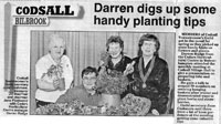 Darren Digs Up Some Hand Planting Tips