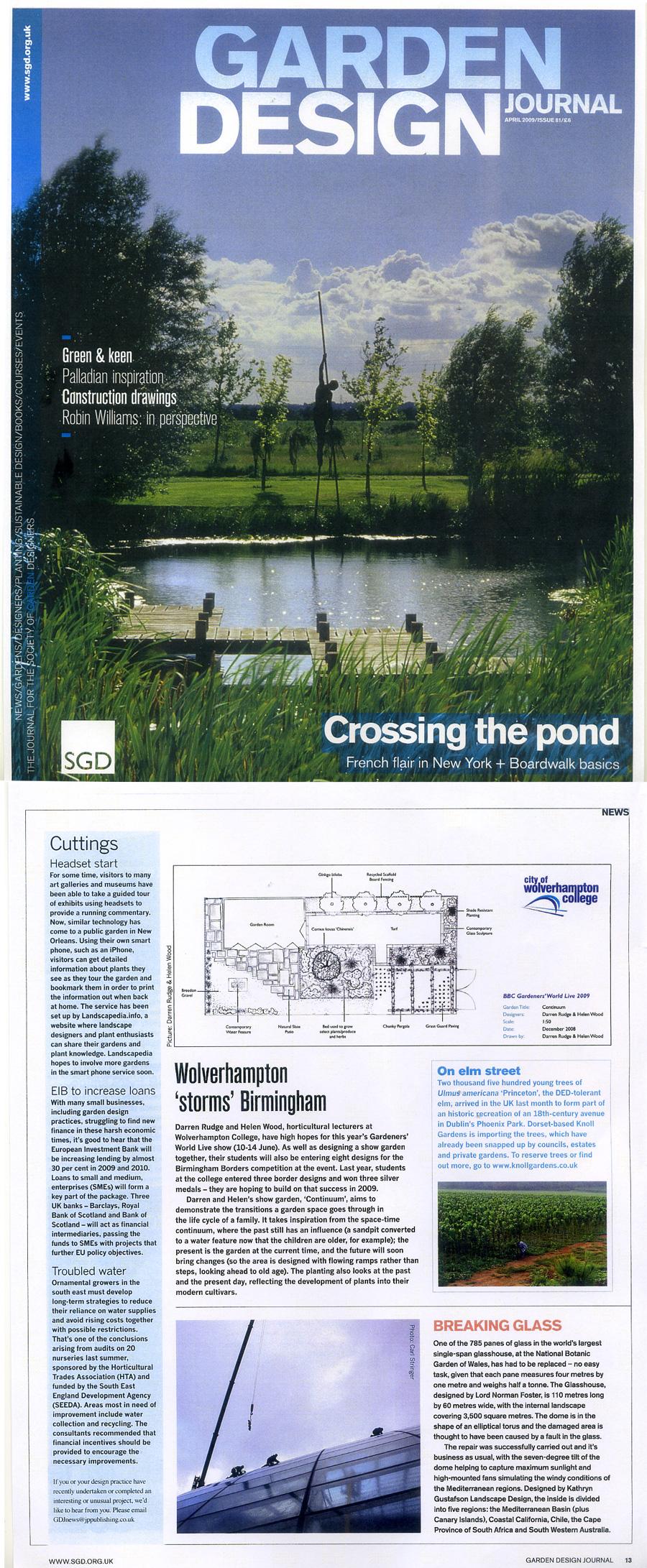 press darren rudge landscape garden designer